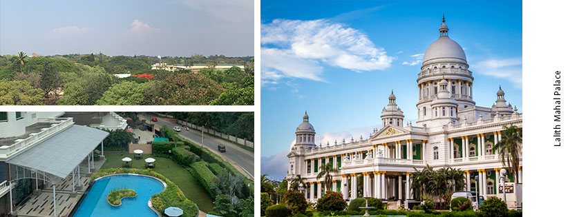 Visit the Lalitha Mahal Palace, when CoWorking from Sproutbox Mysore
