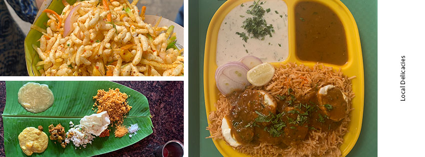 Local Delicacies in Mysore
